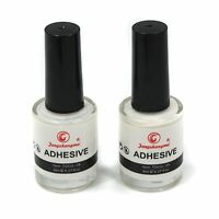 Pro 2 PCS Glue Adhesive for Galaxy Star Foil Sticker Nail Art Transfer Tips 8ML