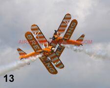 1 X BOEING PT-17 KAYDET STEARMAN BREITLING WINGWALKERS PHOTOGRAPH 1