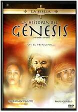 LA BIBLIA: LA HISTORIA DE GENESIS - DVD NEW AUDIO ONLY ESPANOL FACTORY SEALED