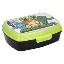 Minecraft LUNCH BOX scatola colazione porta PRANZO MERENDA sandwich scuola