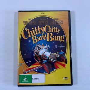 Chitty Chitty Bang Bang 1968 DVD Dick Van Dyke Sally Ann Howes Reg 4 new sealed