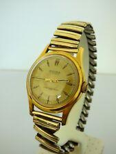 Bifora vintage Armband Uhr Damen 48732 vergoldet 20 Mikrons läuft an