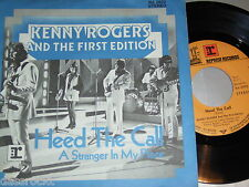 "7"" - Kenny Rogers & First Edition / Heed the Call & Stranger in my Place # 0073"