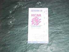 1998 NCAA Tournament Basketball Ticket Round Three Arizona Wildcats Maryland