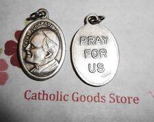 Saint St John Paul II - Oxidized Silver tone Italian 1 inch Medal