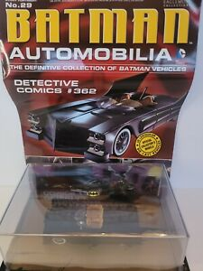 DC BATMAN AUTOMOBILIA FIGURINE WITH MAGAZINE #29 DETECTIVE #362 #saug16-15