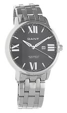 Gant Brighton Stainless Steel Black MOP - Metal 2 Year Int. Warranty W10863