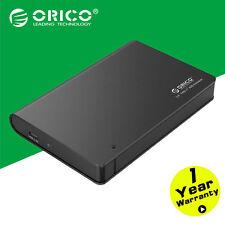 ORICO Aluminium 2.5 SATA USB 3.0 HDD Enclosure Type-C 9.5mm 12.5mm Hard Disk Box