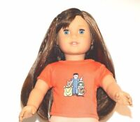 "Halloween Trick Or Treat T-Shirt 18"" Doll Clothes Fit American Girl Dolls B"