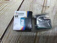 NIB LD Reman Replacement Ink Cartridges HP 93 Tri-Color Bundle