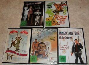 Jerry Lewis DVD Sammlung / 5 Filme / Neupreis 60,50 Euro