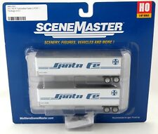 HO Scale 40' Trailmobile Trailers (2 Pack) - Santa Fe - Walthers #949-2501