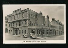 Scotland Inverness-shire FORT WILLIAM Imperial Hotel used 1957 RP PPC