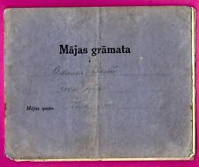 LATVIA LETTLAND House book 1937-47s 17