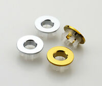 Bathroom Overflow Covers For Basin OR Sink Chrome Replacement Lavatory Hole