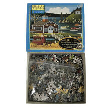 Charles Wysocki Americana Puzzle 1000 Piece Birds of a Feather 2004 - COMPLETE