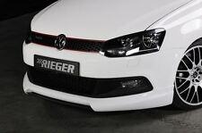 Rieger Front alerón labio para VW Polo 6r GTI hasta Facelift