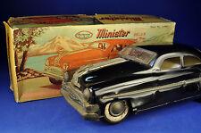 Blechauto / Tin Car: Minister Delux Pontiac, Amar Toys, schwarz / black, OVP