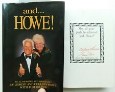 SIGNED* 1995  GORDIE HOWE autobiography hockey superstar & wife 427 pages 10 pix