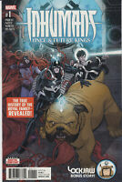 Inhumans Once and Future Kings (Marvel 2017) #1A, VF/NM