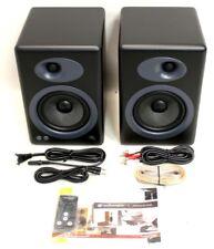 NEW Audioengine A5PLUSB A5+ Powered 2-Way Desktop Speakers (Pair, Black)