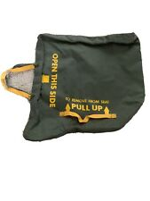 """Ejection Seat Survival Kit Container Bag Sleeping Bag Kit 14x15"""""""