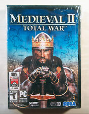 NEW! ~ Medieval II Total War (PC DVD 2006) ~ The Battles Are Only The Beginning!