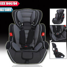 Black Convertible Baby Kid Children Car Seat & Booster Seat Group 1/2/3 9-36 kg