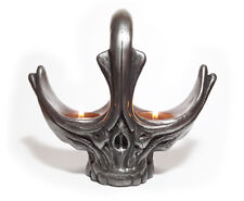 Alien Skull Giger Pewter Sculpture prop replica candle tea light holder gothic