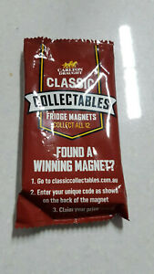 Carlton Draught Classic Collectable Fridge Magnets Unopened Brand New