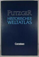 Putzger Historischer Weltatlas HB 223 Pages 1997 Cornelsen