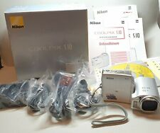 Nikon Digitalkamera Coolpix S10 in OVP - Top Zustand