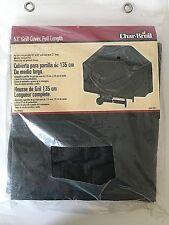 """NEW Char-Broil Grill Cover Model 4941 53"""" Full Length- Black"""