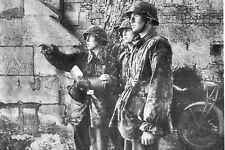 WW2  - Soldats 12° Panzer Abbaye Ardenne - St Germain La Blanche Herbe - Juin 44