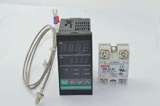 Digital PID SSR Thermostat Temperature Controller 40A SSR K thermocouple Sensor