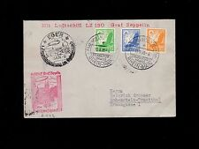 Germany Airship LZ130 Graf Zeppelin German Pre WWII Tour 8.13.39 Cover 7n