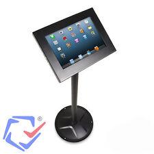 Supporto Tablet 10.1'' da Terra Antifurto per Esposizione Nero Maclean MC-609