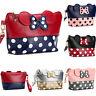 Women Mickey Mouse Coin Bag Purse Cosmetic Makeup Mermaid Case Pouch Handbag
