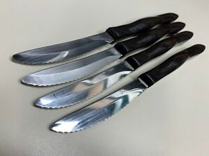 (4) CUTCO CLASSIC HANDLE TABLE KNIVES 1759 USA NICE