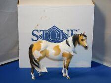 Peter Stone Ocho Dreamer Buckskin Paint Ideal Stock Horse Windswept Model Horse
