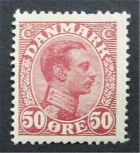 nystamps Denmark Stamp # 120 Mint OG H      S24x356
