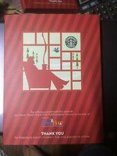 2011 Starbucks Spark Hope Planner MAROON NOS