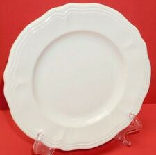Federalist WHITE Ironstone SALAD PLATE ~ Made in Japan ~ Dishwasher/Oven Safe