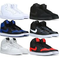 NIKE EBERNON HIGH TOP MEN'S SNEAKERS LIFESTYLE COMFY SHOES
