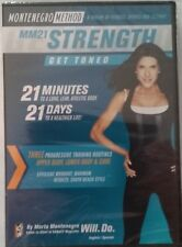 Marta Montenegro Method MM21 Strength NEW SEALED DVD FREE SHIPPING