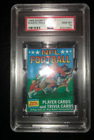 1989 Score Football Wax Plastic Pack PSA 10 Possible B.Sanders Aikman Rookie RC!
