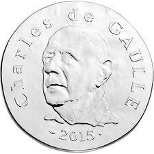 [#91323] France, Général De Gaulle, 10 Euro, 2015, FDC, Argent