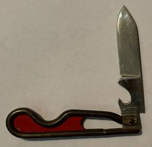 Vintage George Schrade Pat. 1-27-42 B'Port, Conn. Wire Jack Pocket Knife