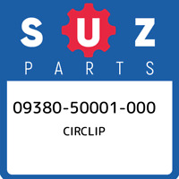 09380-50001-000 Suzuki Circlip 0938050001000, New Genuine OEM Part
