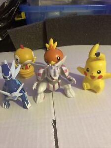 Tomy Pokemon Toy Figures Bundle